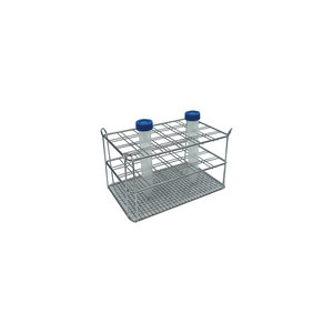Stainless steel rack for 6 x 4 15 ml centrifuge tubes, double wire