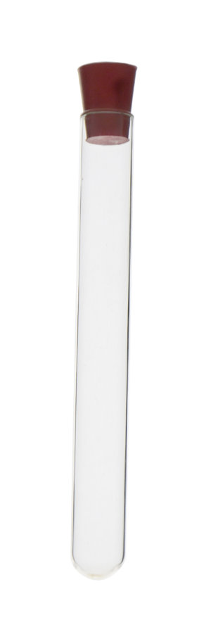 Rubber stopper, solid, Øtop. 9 mm, Øbottom 6 mm, h 16 mm, 25 pcs