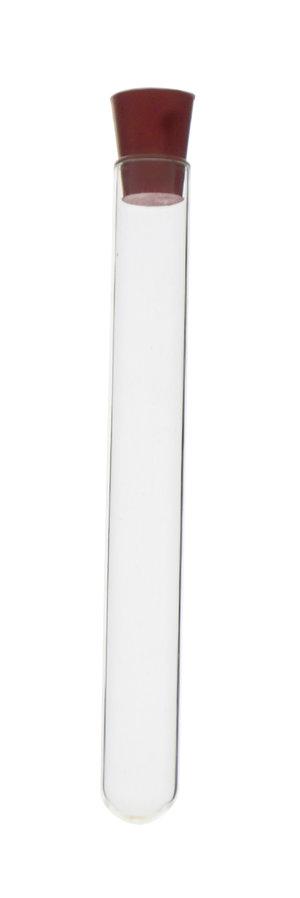 Rubber stopper, solid, Øtop. 14 mm, Øbottom 11 mm, h 18,5 mm, 25 pcs