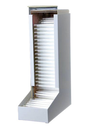 Tube dispenser, for 100 mm lenght tubes