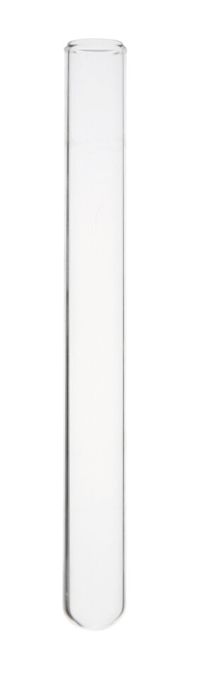 Test tube without rim, vol. 7 ml, Ø12x100 mm, Normal Glass LBG N, 250 pcs
