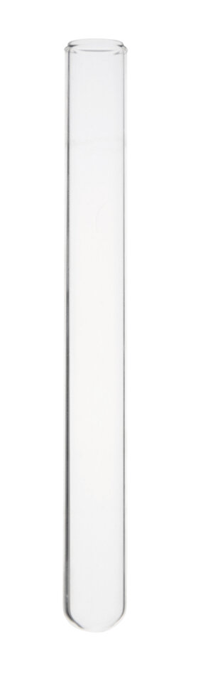 Test tube without rim, vol. 8,5 ml, Ø13x100 mm, Normal Glass LBG N, 250 pcs