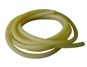 Latex  tubing, amber, 8 x 12 mm, 25 m