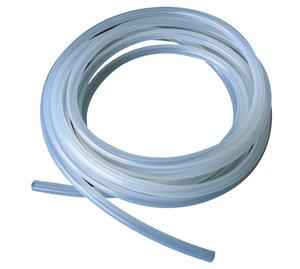 Silicone tubing, translucent, 1 x 3 mm, 5 m