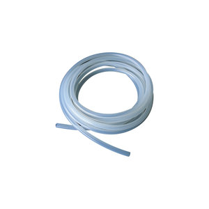 Silicone tubing, translucent, 2 x 4 mm, 5 m