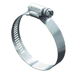Stainless steel hose clamp 15-25 mm, 5 pcs