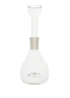 Pycnometer for solids graduated, 50 ml