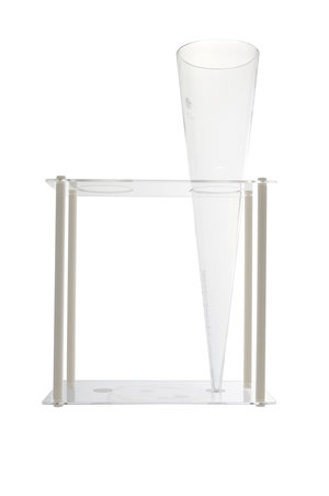 Imhoff cone for sedimentation, borosilicate 3.3 glass, 1000 ml