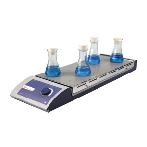 Multi-position magnetic stirrer without heating, LBX Instruments, S04X10 series, 10 positions, 0,4 L