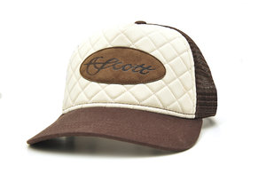 Scott Quilted Patch Trucker