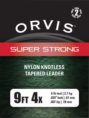Orvis Super Strong 9' Tafsar 2-pack