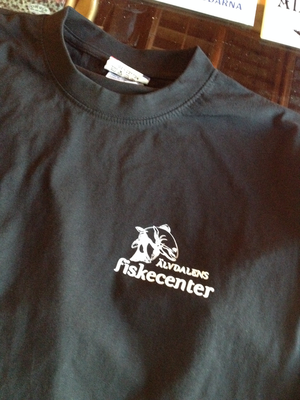 Fiskecentret T-shirt 'Gone fishin'