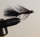 Wooly Bugger Red-black beadhead