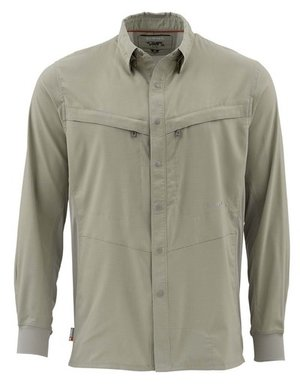 Simms Intruder Shirt dark khaki