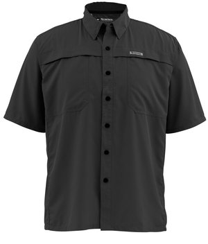 Simms Ebb Tide Shirt ss black