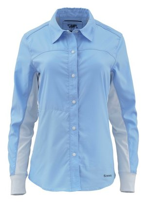 Simms Women's Bicomp Shirt light blue
