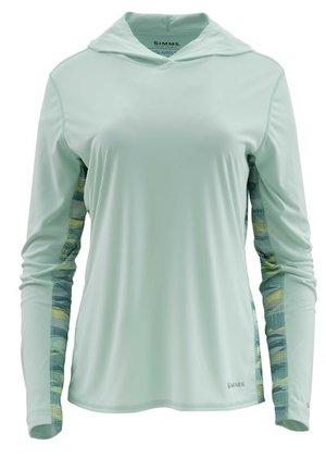 Simms Women's Solar Flex Hoody wintergreen