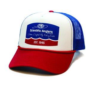 Scientific Anglers Mesh Trucker Hat Retro Logo