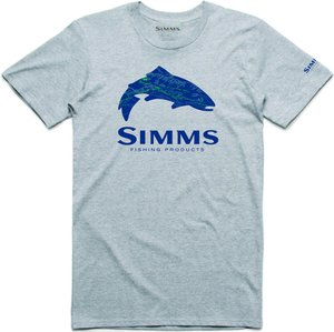 Simms Fire Hole Trout Grey Heather