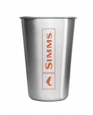 Simms Pint Glass Stainless