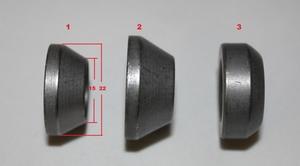 Bult Flytande Kona M12x1.5