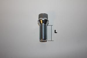 Hjulbult M14x1.5 Kona Svart