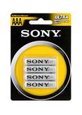 4-pack AAA Batterier Sony