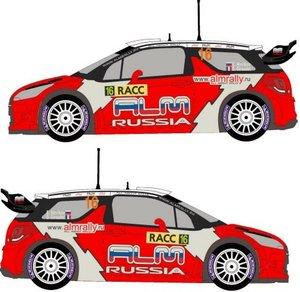 Citroën DS3 WRC Novikov