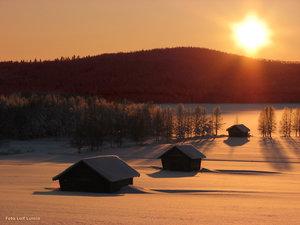 Solnedgång Armasjärvi