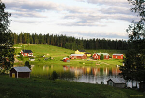 Kannusjärvi i kvällssol