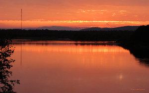 Solnedgång Kätkesuando