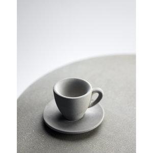 "Cafébord ""Java"", betongskiva med underrede i alm"