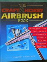 """Airbrush-bok """"The Craft&Hobby Airbrush Book"""""""