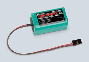 Mottagarbatteri 4,8V/2000mAh