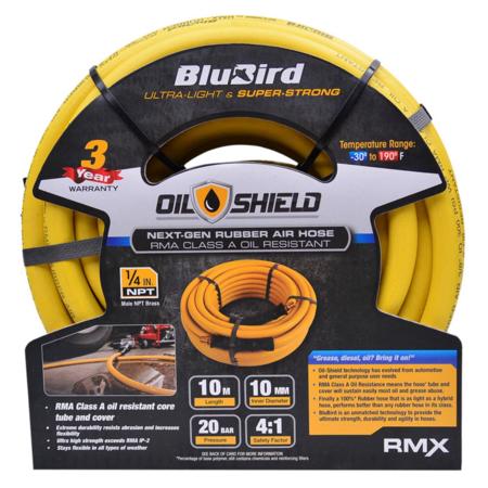 Luftslang BluBird Oil Shield 10mm