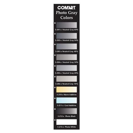COM ART Kit H Black&White Grey Set