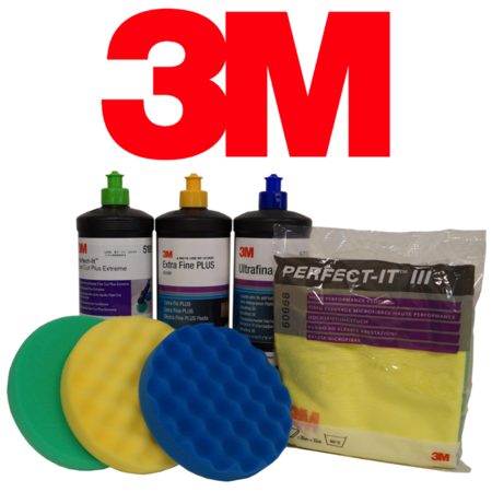 3M Perfect-It™ III Poleringskit