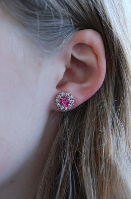 Miss Sofia earrings Rose