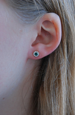 Petite Miss Sofia earrings Emerald