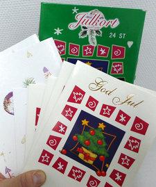 Julkort 24-pack
