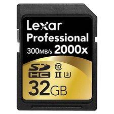 LEXAR PROFESSIONAL 2000X SDHC/SDXC UHS-II