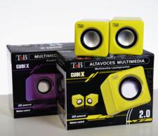 TnB  CubiX, högtalare