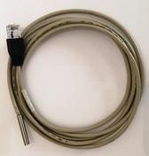 Tempsensor med 2m kabel