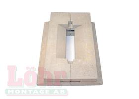 Diom Roster Keramik, VedUnic V825 & Trippel inkl sekundärluftslist och gjutmassa