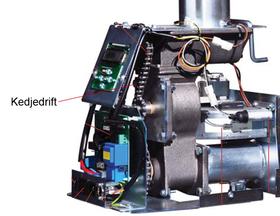 Ariterm/Thermia/CTC EcoFlex  Slussimpeller/Slussvingar för Kedjedrift.