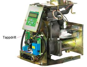 Ariterm/Thermia/CTC EcoFlex   Slussimpeller. För tappdrift.