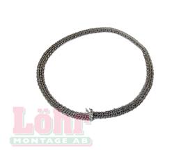 Värmebaronen Viking-Bio Glasfiberband 8x3 mm svart