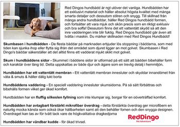 Reklamblad Hundbädd A5
