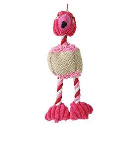 Birdie Hundleksak Rosa