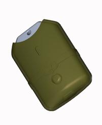 Splashproof tag case